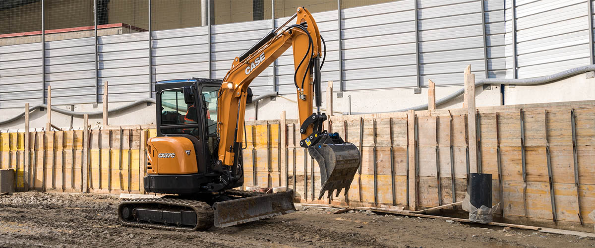 CASE Compact Excavators