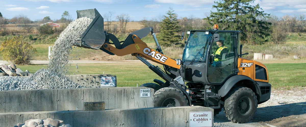CASE Compact Wheel Loaders