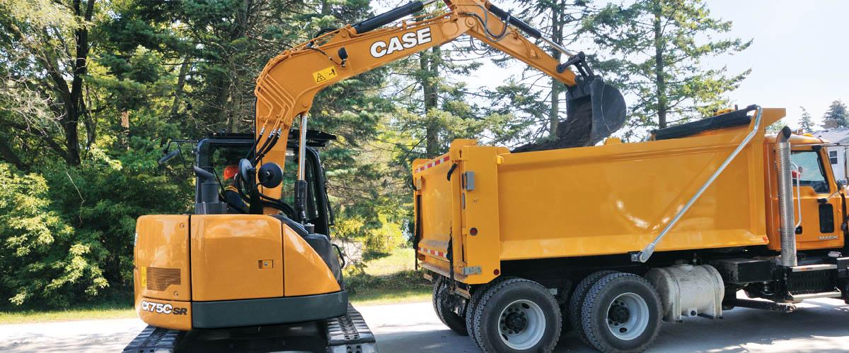 CASE Midi Excavators