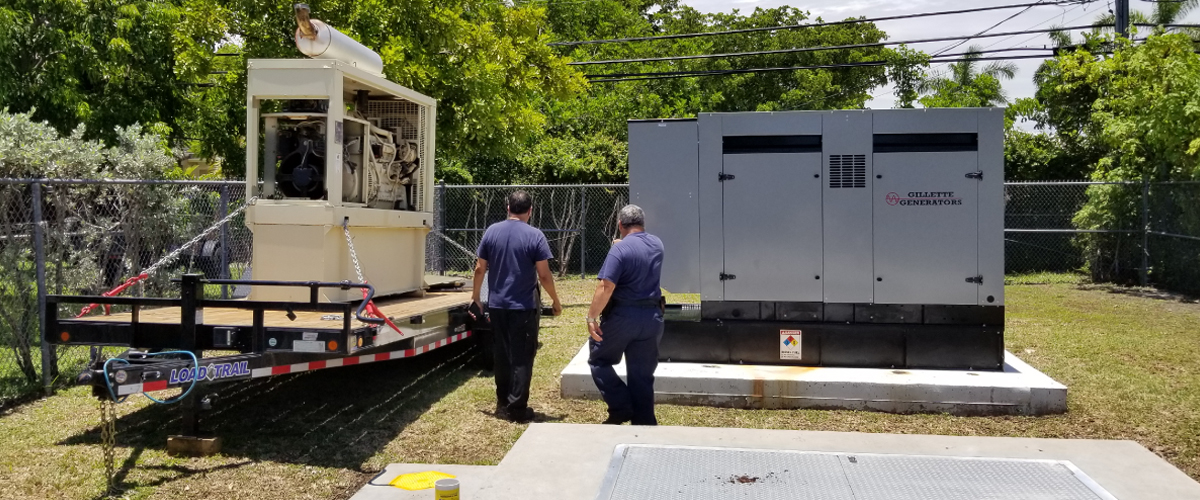 Standby Power Generation Service