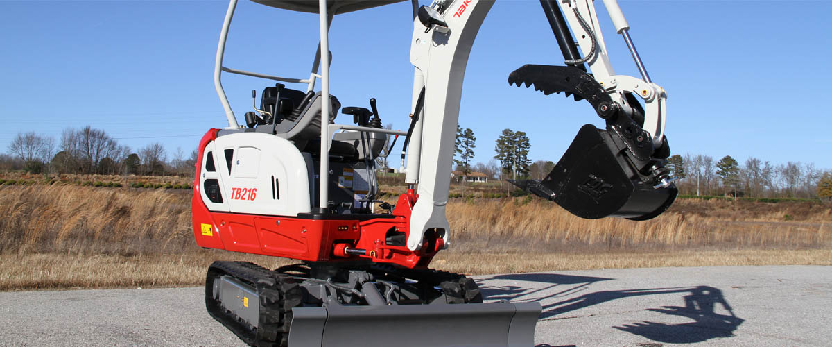 Takeuchi Small Compact Excavators