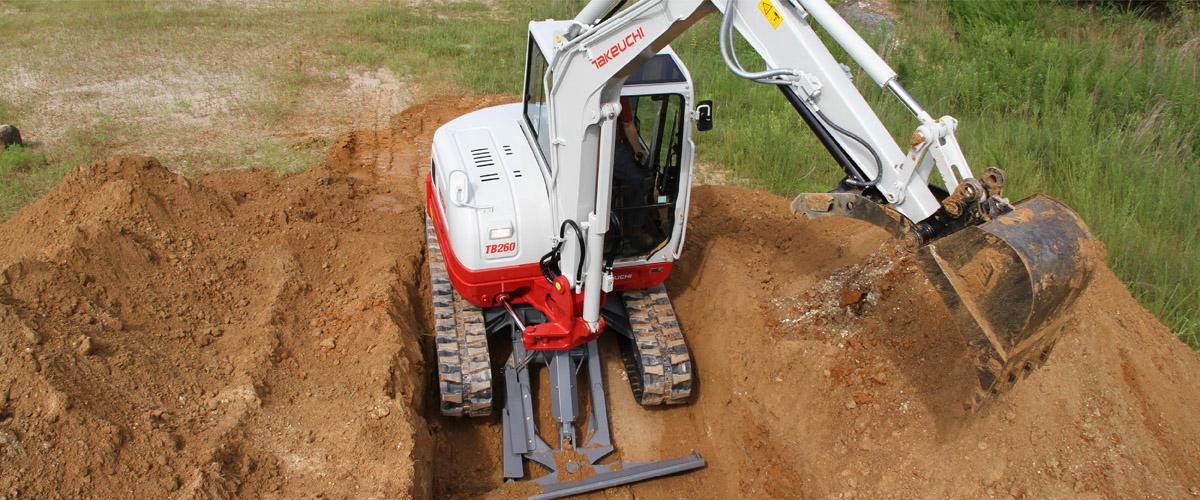 Takeuchi Midsize Compact Excavators
