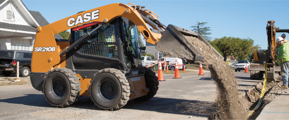 CASE Skid Steer Loaders