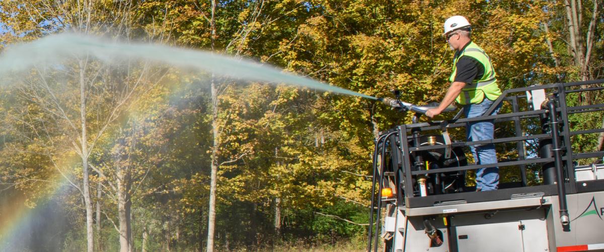 Apex Hydroseeding <br> Equipment by Fecon
